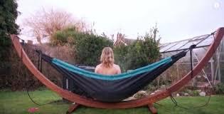 Hammock Bathtub Cost Hydro Hammock Doubles As A Tub