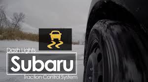 subaru vehicle dynamics control warning light subaru traction control dash lights youtube