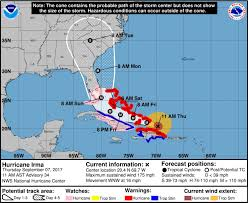Map Of Wilmington Nc Update Latest Hurricane Irma Predictions Show U0027s Path Toward