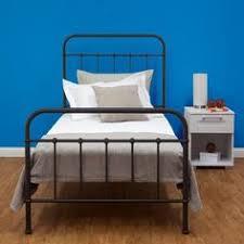 Black Single Bed Frame New Sturdy Black Single Steel Frame Bed Hospital Style Vintage
