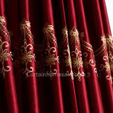 Burgundy Curtains For Living Room Plush Burgundy Blackout Curtains Thermal Blackout Curtains Thermal
