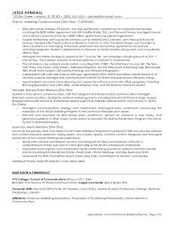 Pr Resume Examples by Marketing Resume Objectives Examples
