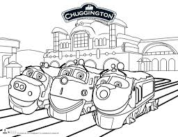 chuggington coloring pages glum