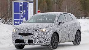 opel grandland x spied up close and personal