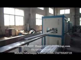 Decorative Cornice Xps Polystyrene Ceiling Decorative Cornice Extrusion Machine Youtube