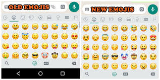 new android emojis brace yourselves whatsapp has redesigned all the emojis in the