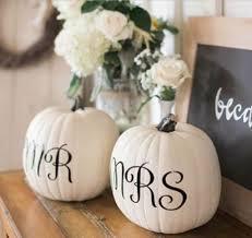 White Pumpkin Decorations Halloween Mr And Mrs Pumpkins 101 Fabulous Pumpkin Decorating Ideas