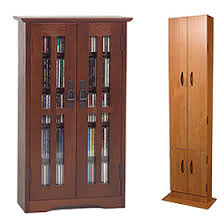 Cd Storage Cabinet With Doors by Media Cd Dvd Racks Cabinets U0026 Towers Free Shipping