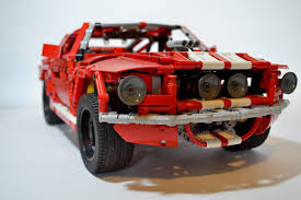 lego shelby cobra gt500 1967 youtube