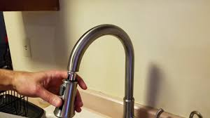 where is the aerator on a kitchen faucet price pfister kitchen faucet repair pull spray nozzle