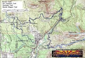 Map Of Sedona Arizona by Arizona Jones Outdoor Mountain Biking In Sedona Az