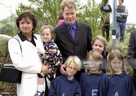 karen spencer countess spencer charles earl spencer with his children louis viscount althorp