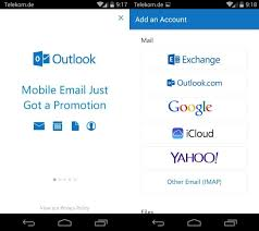 android outlook app microsoft outlook preview for android and ios is now available