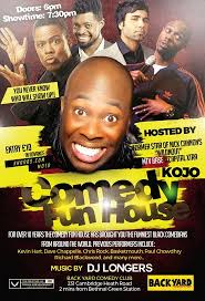 Backyard Comedy Kojo U0027s Comedy Funhouse 2 Tickets Back Yard Comedy Club Shoobs Com