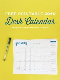 free printables archives elegance enchantment free printable 2016 desk calendar today s creative