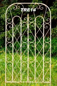 huge wrought iron square garden trellis 40
