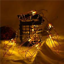 guirlande pour chambre 1 5 m guirlande lumineuse en forme de diamant led pour décor