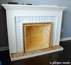 innovative fake fireplace insert ideas faux fireplace insert