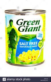 sweetcorn tin tinned salt free green giant sweet corn logo product