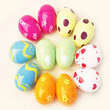 fillable easter eggs aliexpress buy 12pcs colorful plastic empty fillable easter
