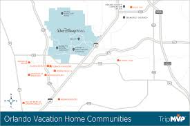 Map Of Orlando And Surrounding Towns by Orlando Communities Tripmvp