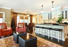 open kitchen and living room color ideas centerfieldbar com