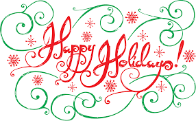 happy holidays ucla with lettering by carlos araujo