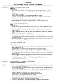resume templates word accountant trailers plus peterborough materials coordinator resume sles velvet jobs