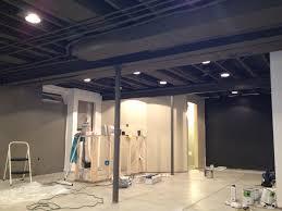 open basement ceiling ideas basement ceiling ideas best options