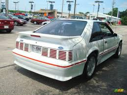 1988 gt mustang 1988 oxford white ford mustang gt fastback 13884879 photo 5