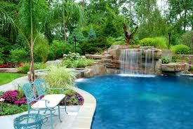 furniture foxy pool tropical landscaping ideas backyard pictures