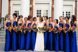 cobalt blue bridesmaid dresses blue bridesmaid dresses dressed up