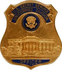 United Process Service File Badge Of The United States Secret Service Uniformed Division