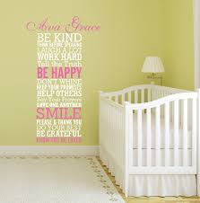 girls quote wall decals be kind quote wall decal decor designs decals 1