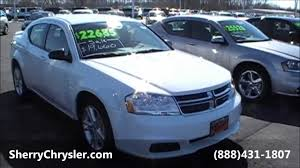2013 dodge avenger se sedan white for sale dayton troy piqua
