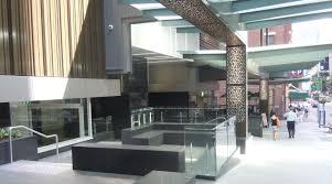 wintergarden cbd shopping centre glass balustrades project thump