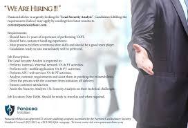 Resume Job Location by Panacea Infosec P Ltd Linkedin