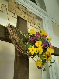 church decorations for easter easter altar arrangement cuaresma altars easter