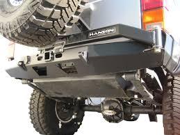 jeep rear bumper with tire carrier amazon com hanson xjctcp tire carrier automotive