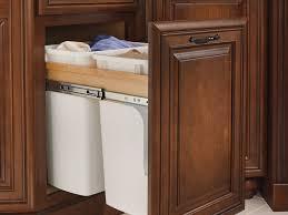 cabinet under kitchen sink garbage can the smart kitchen sink