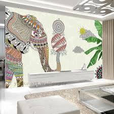 Aliexpresscom  Buy Cartoon Elephant D Wallpaper Photo Wall - Kids room wall murals