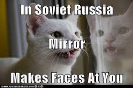 In Soviet Russia Meme - soviet russia cat by xmaikowolfx on deviantart