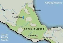 Tenochtitlan Map Aztecs By Grant Brewer