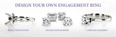 make your own engagement ring design your own wedding rings design your own engagement ring at
