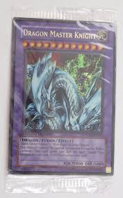 dragon master knight ue02 en001 ultra rare yugioh card sealed