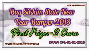 what to buy for new year buy now sikkim state new year bumper 2018