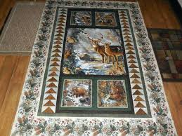 quilts with panels ideas baby quilt patterns with panels wildlife