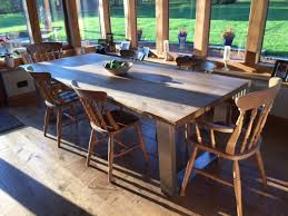 rustic industrial dining table abacus tables