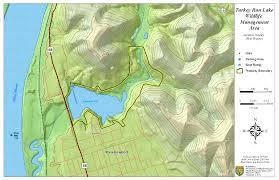 Topographical Map Of Virginia by West Virginia Dnr Wma Map Project
