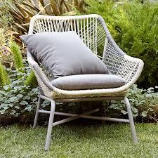 huron small lounge chair cushion u2013 gray west elm
